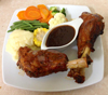 Turf n Surf Restaurant - Lamb Shanks